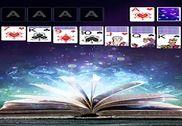 Solitaire Magic book Theme Jeux