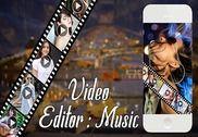 Video Editor With Music Multimédia