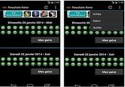 Résultats Keno Android Maison et Loisirs