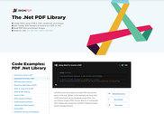 The .Net PDF Library Programmation