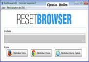 ResetBrowser Utilitaires