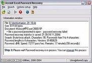 Accent Excel Password Recovery Bureautique