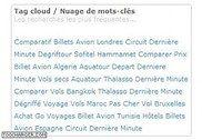 Tag cloud / nuage de liens PHP
