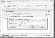 Microsoft Outlook Social Connector Provider pour Windows Live Messenger Internet