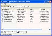Outlook Express Password Revealer Internet