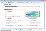 AquaSnap Personnalisation de l'ordinateur