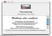 ThumbsUp Personnalisation de l'ordinateur