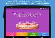 Cartes de voeux d'anniversaire Multimédia