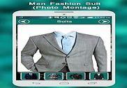 Man Fashion Suit Photo Montage Multimédia