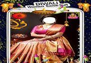 Diwali Women Saree Suit Multimédia