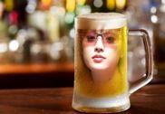Beer Glass Photo Frame Multimédia