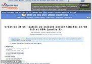 Création et utilisation de classes personnalisées en VB 6.0 Informatique