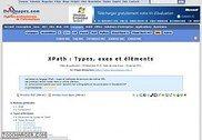 XPath : Types, axes et éléments Informatique