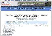 Modélisation de XML : choix de structures  Informatique