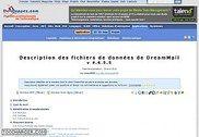 Description des fichiers de données de DreamMail Informatique