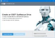 ESET SysRescue Live Sécurité & Vie privée