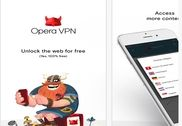 Opera Free VPN iOS Sécurité & Vie privée