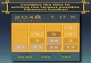 2048 Fibonacci Jeux