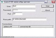 Core FTP Mini SFTP Server Internet