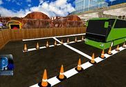 City Coach Bus Parking Simulator Driving School Jeux