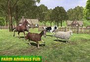 Animaux de la ferme familiale Jeux