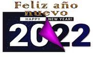 Happy New Year 2022 GIF 4K Maison et Loisirs