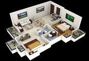 3d Home designs layouts Maison et Loisirs