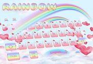 Amour Rainbow clavier Theme Love Rainbow Maison et Loisirs