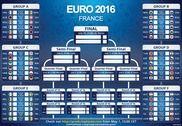 Tableau de pronostics Euro 2016 Maison et Loisirs