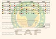 Calendrier Coupe d'Afrique des Nations 2017 Maison et Loisirs