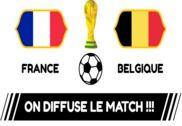 Affiches de Diffusion des matches de la coupe du monde Maison et Loisirs