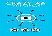 Crazy AA  Pin Circle Jeux