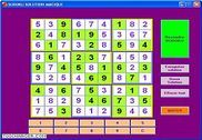 Sudoku solution magique Jeux
