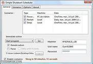 Simple Shutdown Scheduler Utilitaires