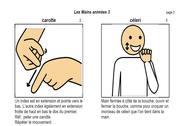 Les mains animées PDF