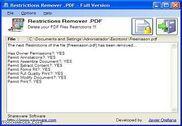 Restrictions Remover .PDF Bureautique