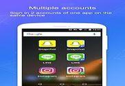 ES Parallel Accounts-Multi Accounts&Parallel Space Bureautique