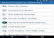 Online Correction for Aadhar Card Bureautique