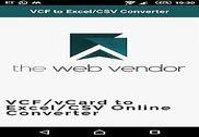 VCF to Excel/CSV Converter Bureautique
