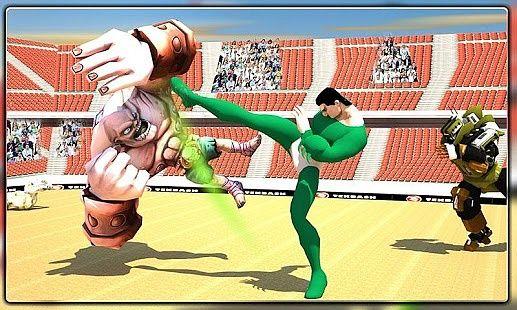 Super monstre héros arène bataille