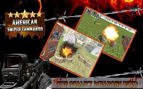 American Sniper 3D Commando