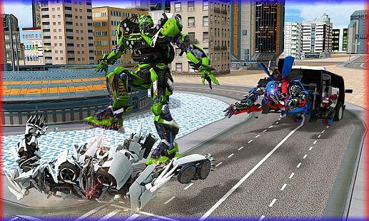 Police Robot Transformation - Prison Escape