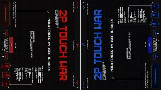 2P Touch War