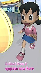 Shizuka Anime Girl Run Rush 3D