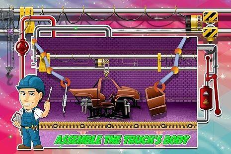 Jeux d'usine de camion monstre