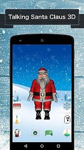 Talking Santa Claus 3D