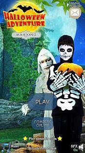 Hidden Mahjong: Halloween Adventure