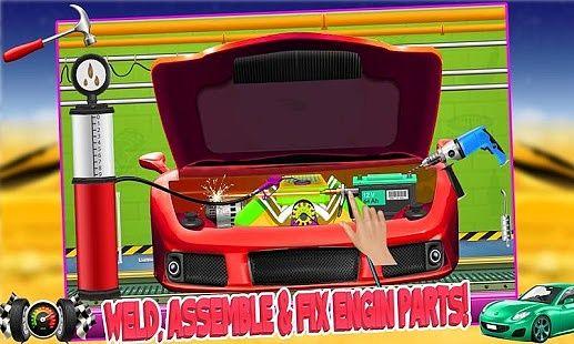 Simulateur usine voiture sport