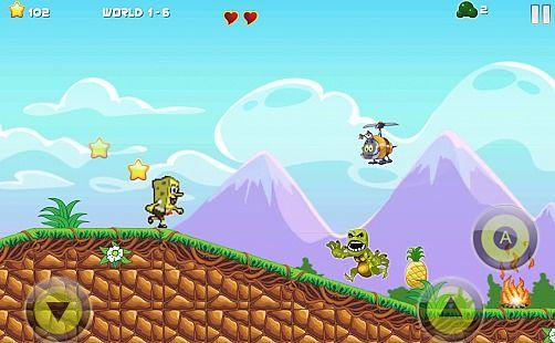 Super Sponge 2 World Adventure ; and Frend's