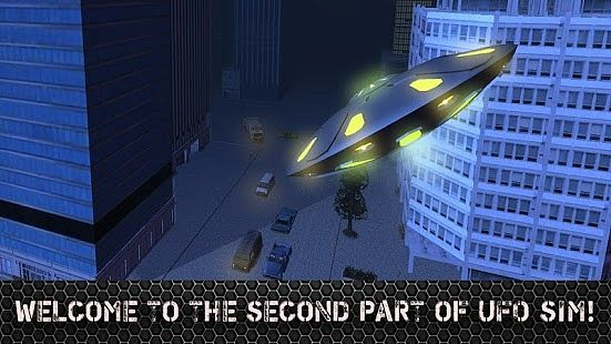 Alien UFO Simulator 3D - 2